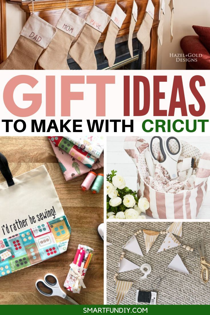 Homemade Gift Ideas You Can Make With Your Cricut Gift Tags Diy Personalized Gift Wrap Handmade Holiday Gifts