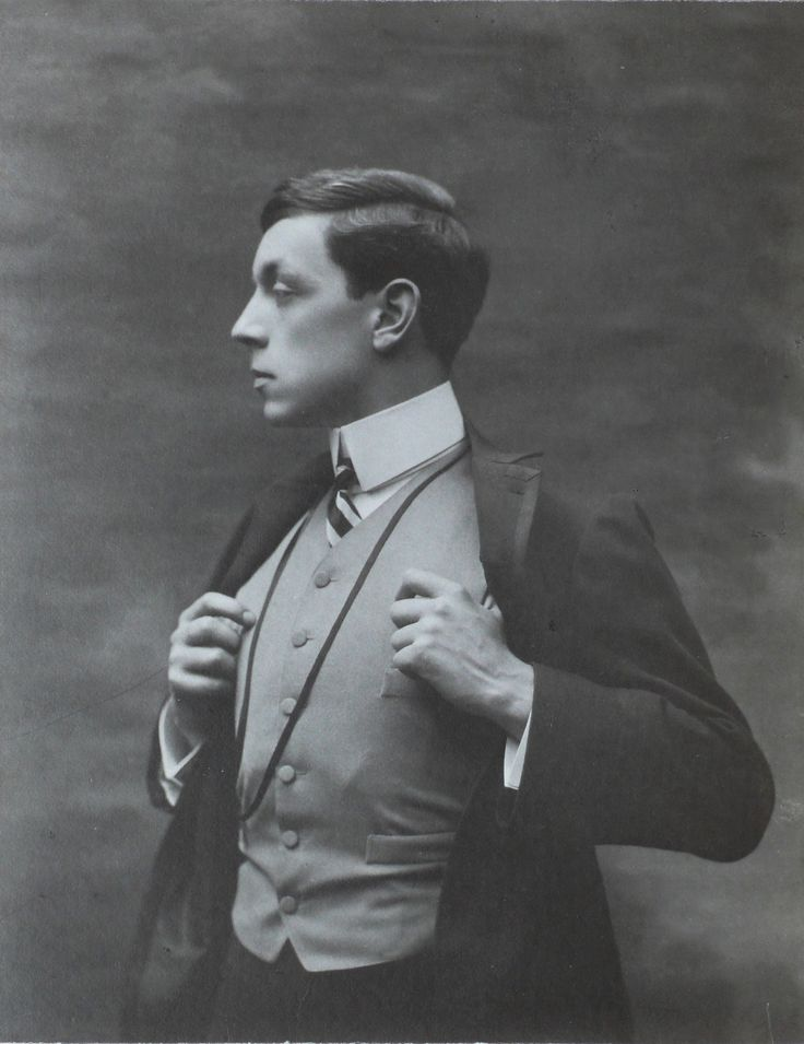 Cautin et fils - Roger Boutet de Monvel 1904 - nice profile