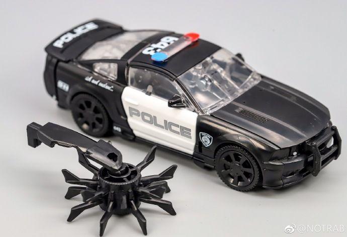 TRANSFORMERS Barricade /& Decepticon Frenzy HUMAN ALLIANCE RD-24 POLICE CAR TOY