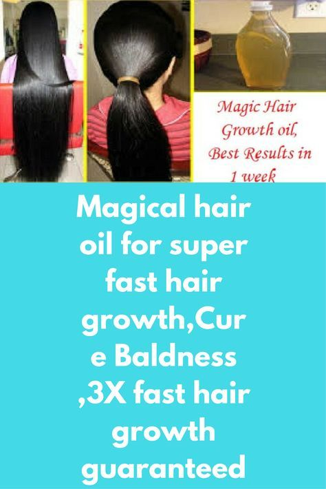 Magical hair oil for super fast hair growth,Cure Baldness ,3X fast hair growth guaranteed Today I will share about magical homemade hair oil for extreme hair growth. It helps in regrowing thinning areas on your scalp and genuinely works 100% in growth of