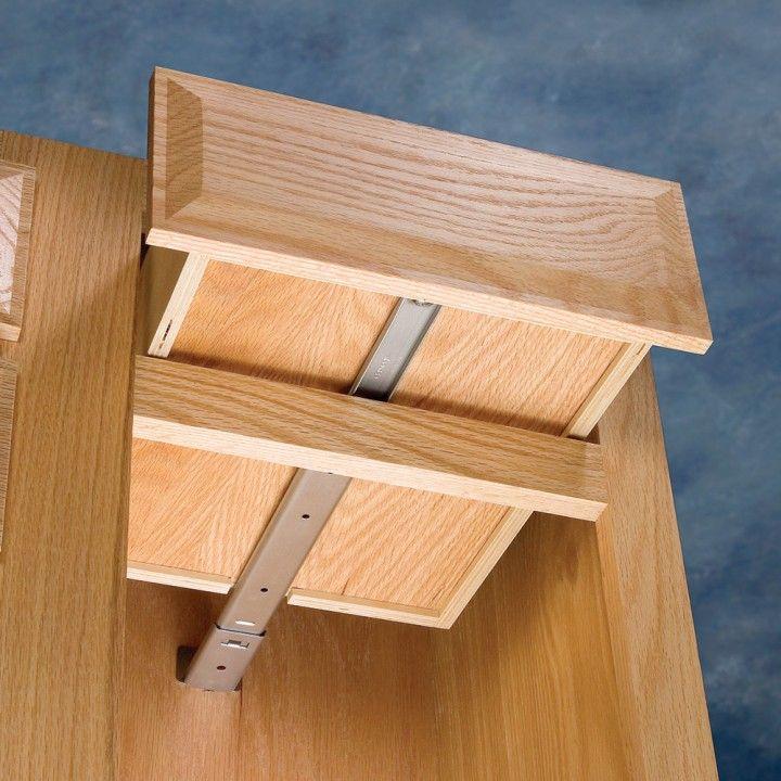 Accuride Center Mount Slide For Face Frame Cabinets