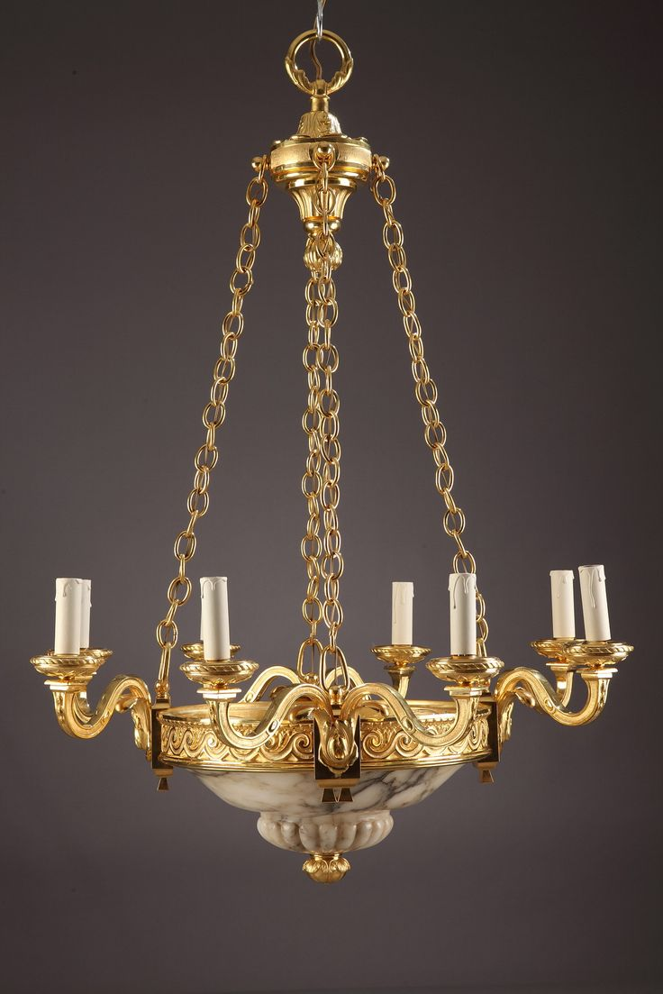 113 best lighting images on pinterest bronze basket and branches gilt bronze chandelier in louis xvi style with eight scrolled branches the arms of the arubaitofo Gallery