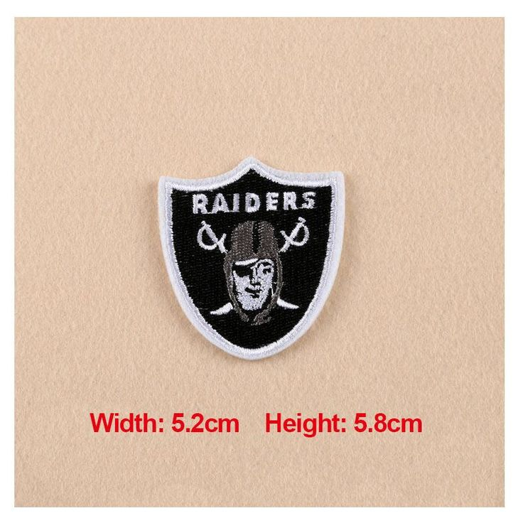 [Visit to Buy] High Quality 1PC Patches For Clothing Embroidery Badge Raiders Patches For Apparel Bags Hat Cap DIY Accessories #Advertisement