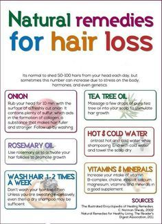 Remedies for hair loss. Bald patches are growing... :(