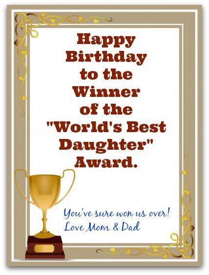 Best 25 Birthday wishes daughter ideas – Best Happy Birthday Card Ever