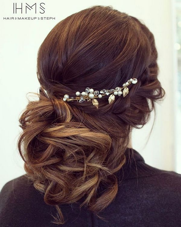 110 Wedding Hairstyles for Long Hair from Hair and Makeup by Steph   Hi Miss Puff - Part 16