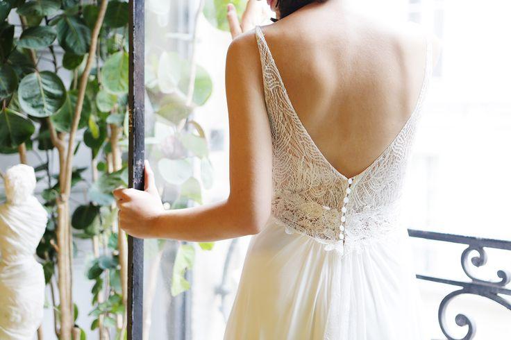 Emeraude par AMARILDINE Paris | Robes de mariée - Robes de mariage | Collection 2016