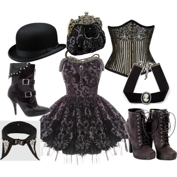 1000+ ideas about Modern Steampunk Fashion on Pinterest ...  Modern Victorian Gothic Clothing