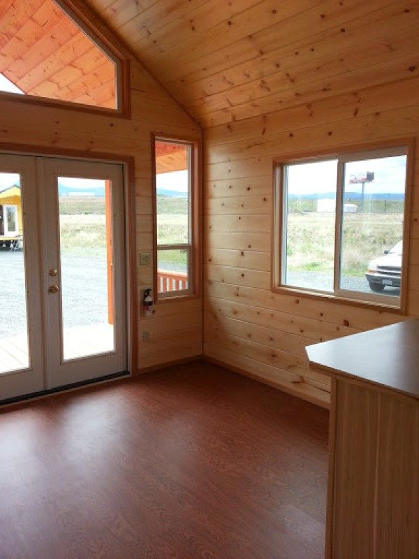 The Pacific Loft Tiny House by Rich's Portable Cabins
