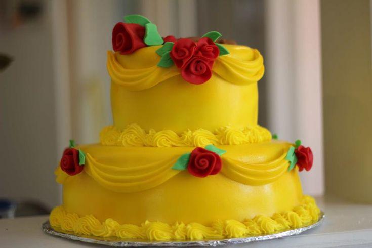 Beauty and the Beast cake  https://www.facebook.com/gimmesomesugar2012