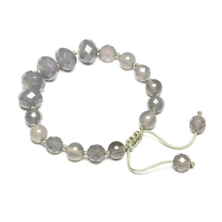 Lola Rose Danica Grey Agate Bracelet - On Sale Now  £21.60