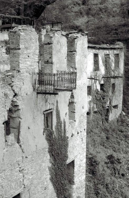 The loneliest balcony. Milies, Mount Pelion, Greece, 2012.