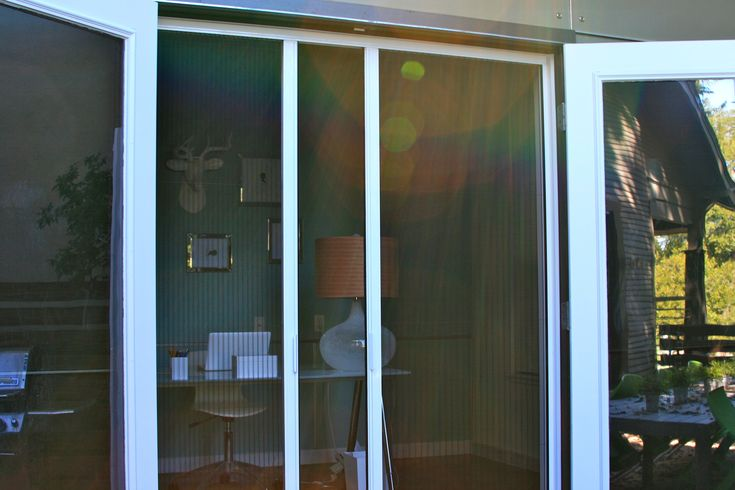 Magnetic Fly Screen For Patio Doors