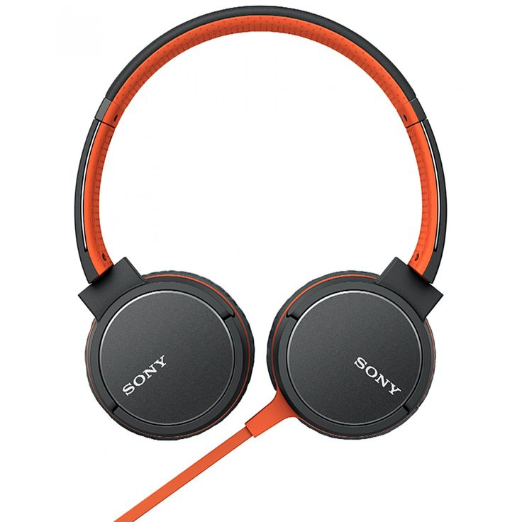 Sony Audífonos MDR-ZX660AP en tono naranja; con conexión Bluetooth y NFC One-touch con función manos libres diadema ajustable para mayor comodidad unidad de diafragma 40 mm con cable plano para evitar enredos.<br>Longitud de cable 1.2 m.