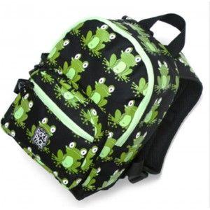 Ik vond dit op Beslist.nl: Pick Pack Fun Kinder Rugzak Frog Green}27.95