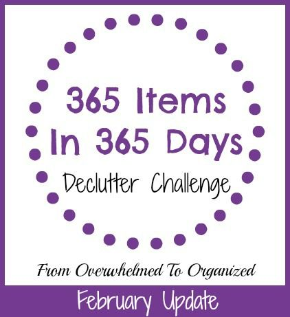 got clutter join the 365itemsin365days challenge need decluttering ideas check out what - How Do I Declutter My House