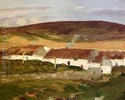 Irish Cottage  by Robert Henri