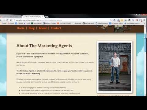 Website Review - The Marketing Agents