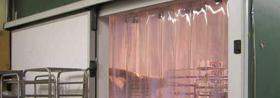 PVC Strip Curtain Doors | Wilcox Door Service: 24 Hour Service for the GTA and Southern Ontario