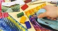 all the encaustic art kits are evidently sold in europe... kind of like plaster, not yet mainstream to us, but !!