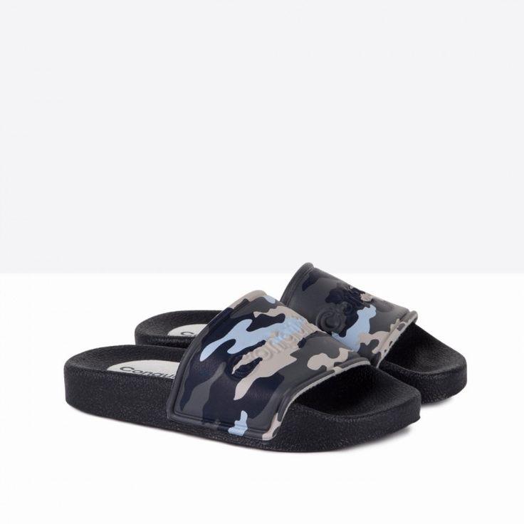 Sandalias de Goma Niño Camuflaje - Calzado - Niño - Conguitos #conguitos #niño #shoes #collection #ss18 #sandalias #goma #camuflaje