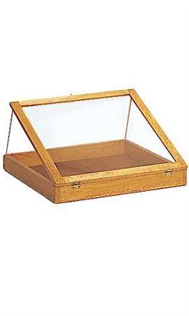 "Pine Wood Countertop Display Cases - $69.75 36"""