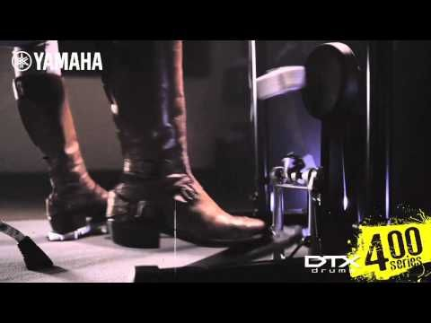 Yamaha Electronic Drums DTX400 Series - Video