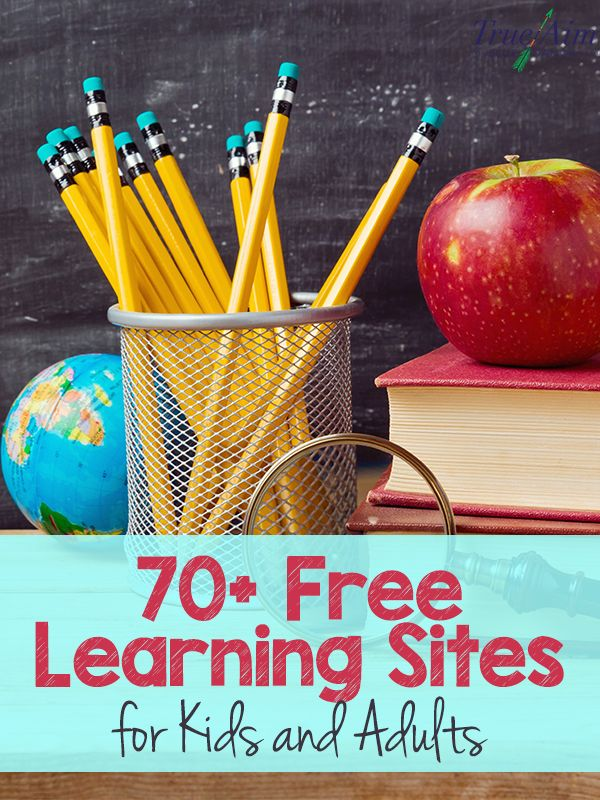 70+ Free Learning Sites for Kids and Adults - Best list ever!