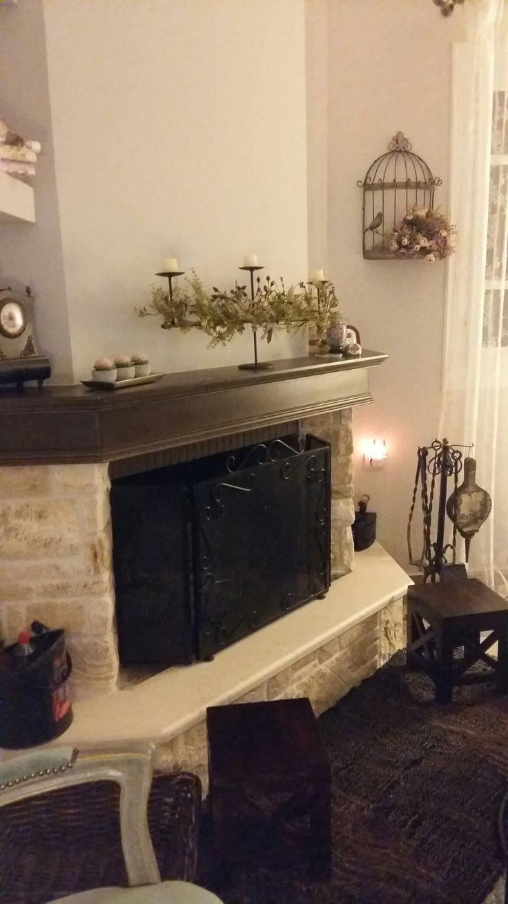 Fireplace-living room