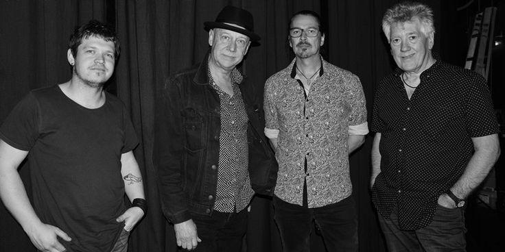 Mitch Cairns, Russell Morris Mick Carter & John Swan. Copyright Greg Foster (Aussie Greg) 2015