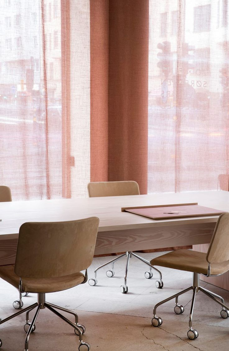 A Merry Mishap: Note Design Studio's office, based on the Neutral Color System