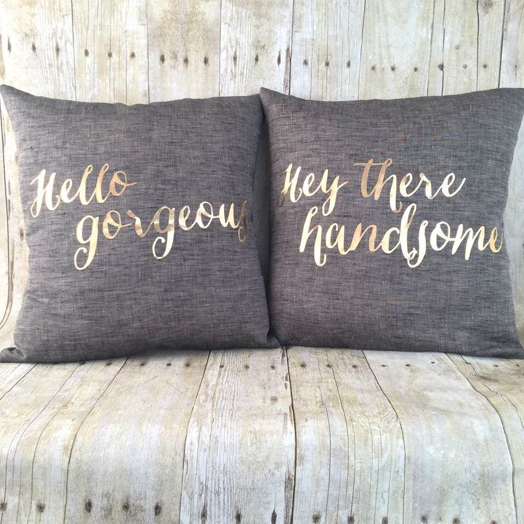 Free Shipping, metallic gold Handsome & Gorgeous pillow set with inserts by HomeGlow on Etsy https://www.etsy.com/listing/220872739/free-shipping-metallic-gold-handsome