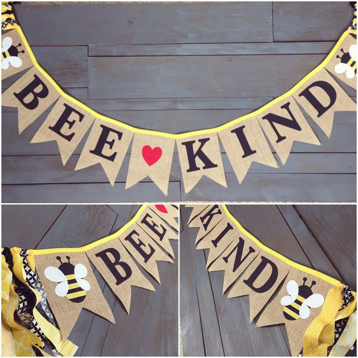 What Will It Bee Honey Bumble Bee Gender Reveal Party Decorations Baby  Shower Pennant Bunting Burlap Banners For Food Table, Black U0026 Yellow