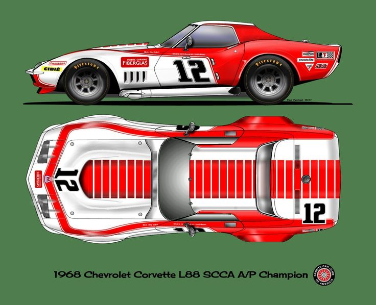 69 1968 L88 Corvette Race Car Motorcycle Review And