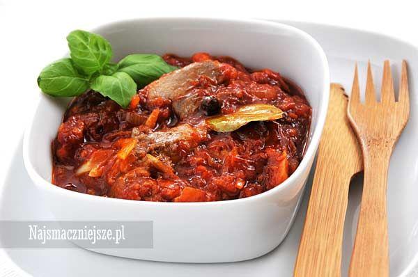 Śledzie po kaszubsku, śledzie w sosie pomidorowym, śledzie, matias, http://najsmaczniejsze.pl #food #śledzie #Wigilia #święta #przepis