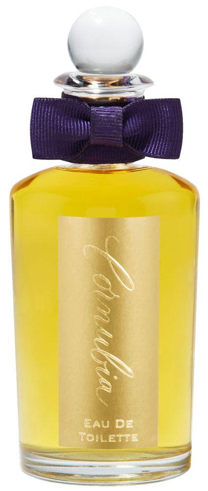 Zoet, oosters en bloemig is de geur Cornubia van het Engelse huis Penhaligon`s uit 1910. Deze geur heeft met haar topnoten uit fresia`s en neroli en basisnoten uit amber, muskus en vanille de tand des tijds doorstaan.