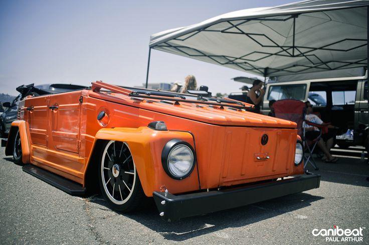 Beautifully slammed orange VW Thing.Slammed Orange, Beautiful Slammed, Vdub, Orange Vw, Cars, Slammed Vw, 3Volkswagen Things, First Car, Vw Things