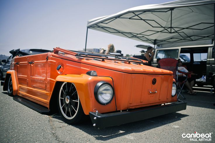 Beautifully slammed orange VW Thing.: Slammed Orange, Beautiful Slammed, Orange Vw, Things Types, Slammed Vw, 3Volkswagen Things, Cars Vw, Vw Things, Volkswagen Things Yessssssss