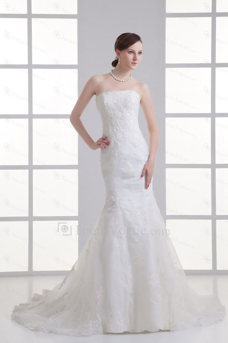 60 besten Brautkleider im Meerjungfrauen-Stil Bilder auf Pinterest ...