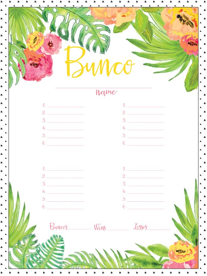 114 best Bunco Ideas images on Pinterest Snacks, Clean eating - potluck sign up sheet template