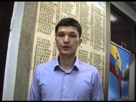 Об учебе и развлечениях в #МАДИ рассказывает аспирант из Казахстана