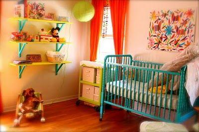 Gender-Neutral Colorful Nurseries - Design Dazzle