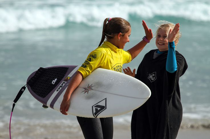Learning to surf is a rite of passage for most young Geraldton people. Fun on the water is our year round pastime