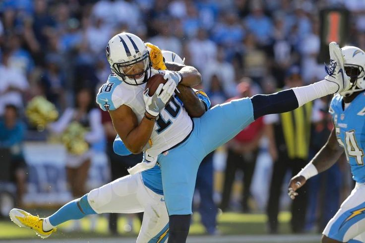 Titans at Chargers:   43-35, Chargers  -  The Tennessee Titans take on the San Diego Chargers in Week 9 action at Qualcomm Stadium. (Photos: Donn Jones, AP)