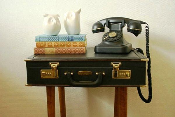 что сделать из чемодана - стол