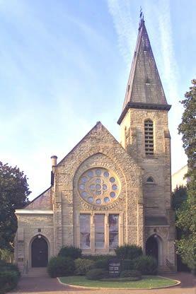 A lovely historic church, Kanawha United Presbyterian, in downtown Charleston, WV.