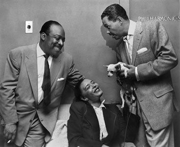 Count Basie, Billie Holiday and Billy Eckstine