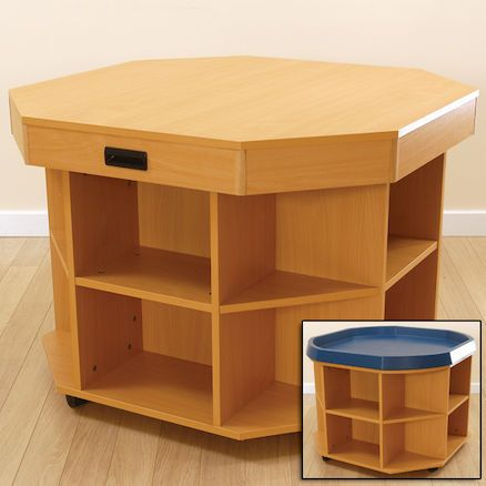 Active World Tuff Spot Tray Activity Unit with Lid.