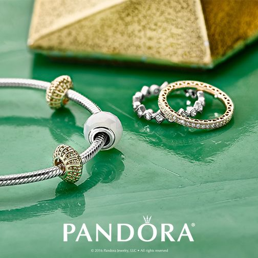 At PANDORA Jewellery, gold and silver have joined forces. This idea of mixing metals can allow you to create a look that is simply your own.