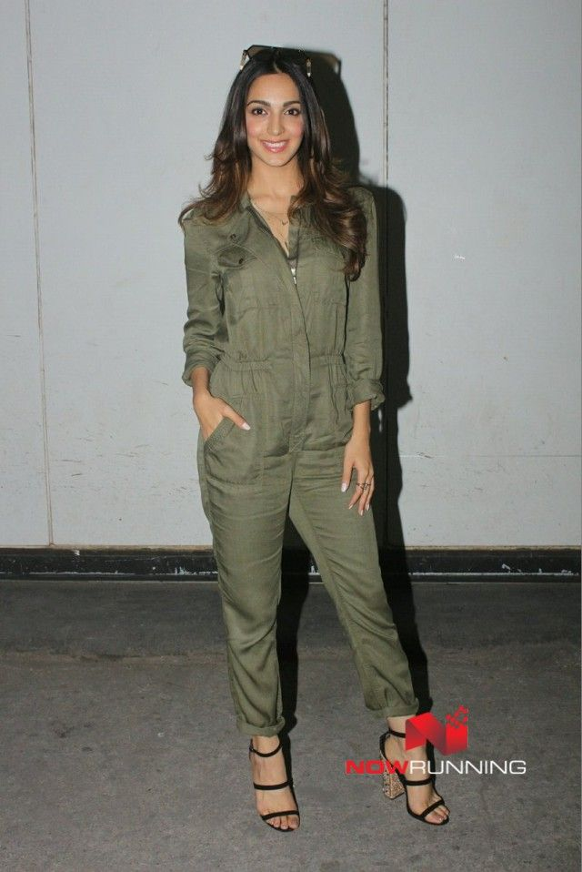 Kiara Advani snapped promoting the track 'Mast Mast' for 'Machine'